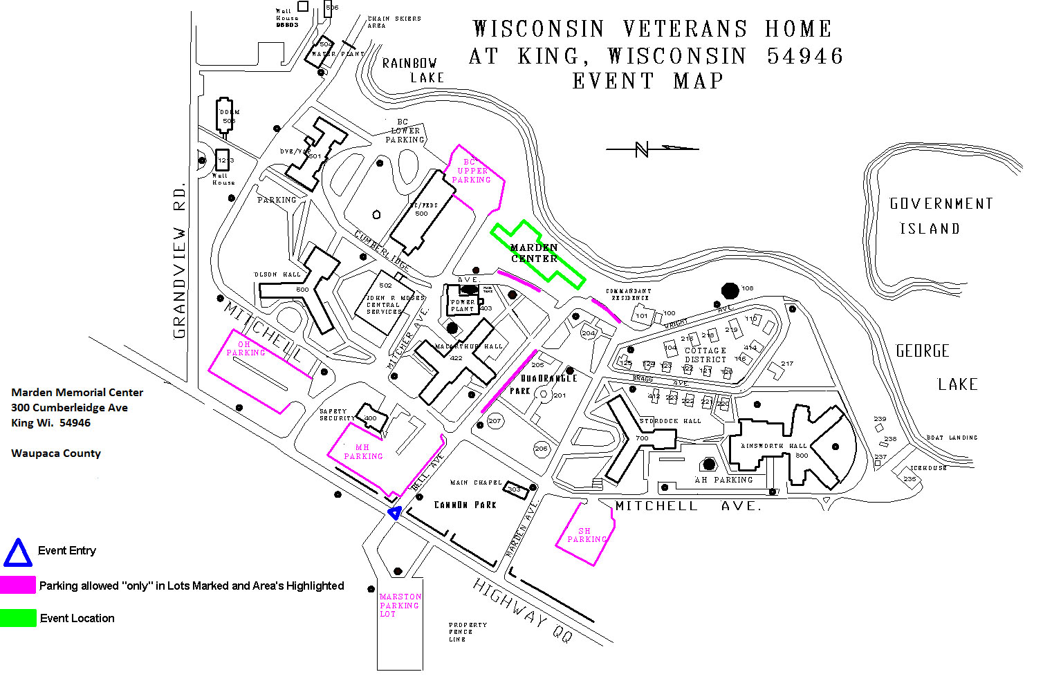 Wisconsin department of veterans affairs wisconsin veterans home king event map xflitez Image collections